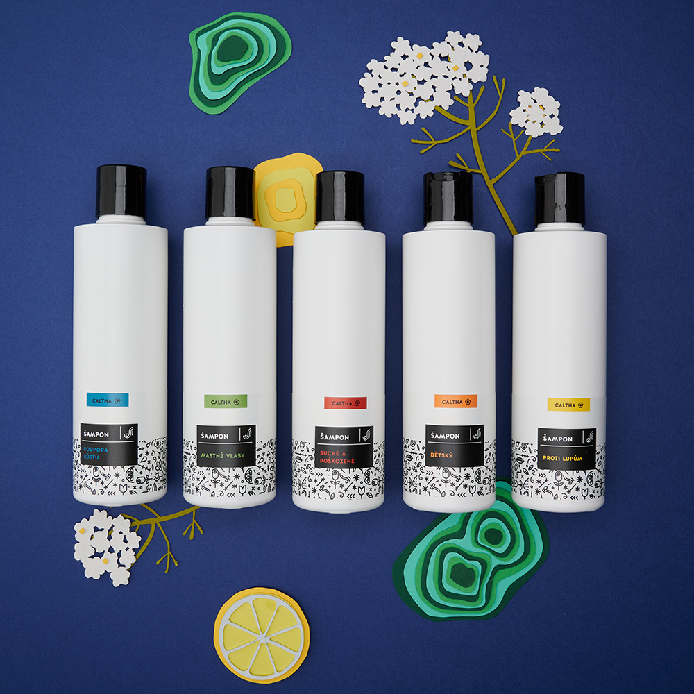 Nové tekuté šampony